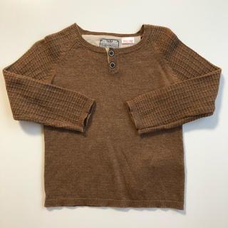 ザラ(ZARA)のZARA knit wear ニット 美品☆80センチ 12ー18M(ニット/セーター)