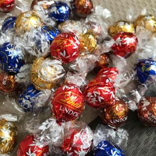 リンツ(Lindt)のリンツ リンドール チョコ チョコレート 20個 アソート ミルク ホワイト (菓子/デザート)