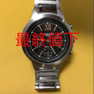 アルファキュービック(ALPHA CUBIC)の【新品・未使用】ALPHA CUBIC HOMME メンズ 腕時計(腕時計(アナログ))