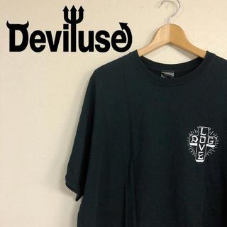 デビルユース(Deviluse)のDeviluse DOGLOVEプリントTシャツ ビッグサイズ(Tシャツ/カットソー(半袖/袖なし))