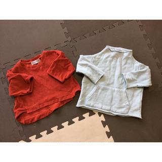 ボボチョース(bobo chose)のarkakamaパイルTと、韓国子供服2枚セット(Tシャツ/カットソー)