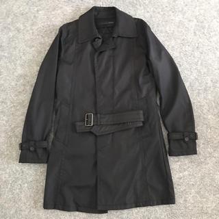 シュリセル(SCHLUSSEL)のSCHLUSSEL シュリセル ビジネスコート メンズ コート 黒 ブラック(トレンチコート)