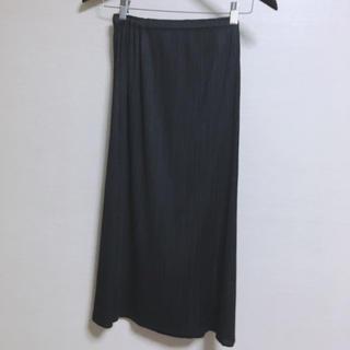 プリーツプリーズイッセイミヤケ(PLEATS PLEASE ISSEY MIYAKE)のpleats please  ベーシック スカート 黒(ロングスカート)