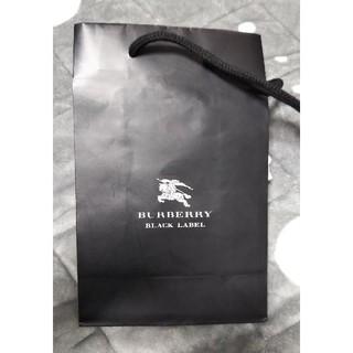 バーバリーブラックレーベル(BURBERRY BLACK LABEL)のBURBERRY black label 紙袋(ショップ袋)
