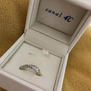 カナルヨンドシー(canal4℃)のペアリング 女性 シンデレラ(リング(指輪))