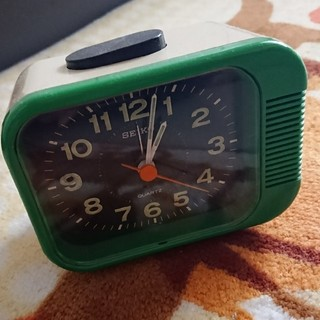 セイコー(SEIKO)のSEIKO レトロ置時計(置時計)