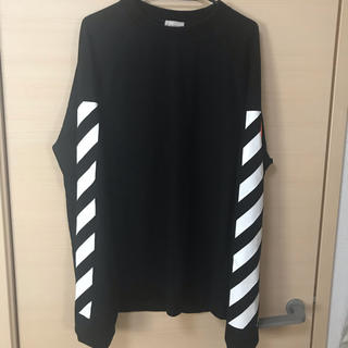 モンクレール(MONCLER)のmoncler×off white  L(Tシャツ/カットソー(七分/長袖))