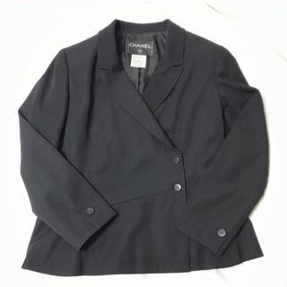 0f573ed9f746 シャネル(CHANEL)のほぼ新品☆CHANEL ココマーク ボタン ブラック ジャケット シャネル(