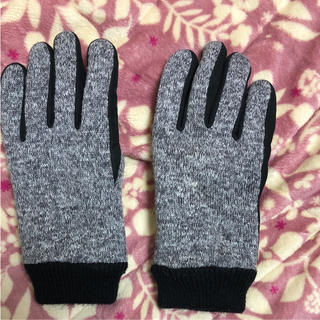 ユニクロ(UNIQLO)のメンズ 手袋 裏起毛手袋(手袋)