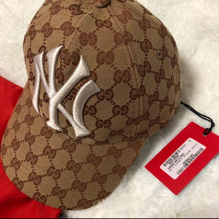 グッチ(Gucci)のGUCCI NY CAP(キャップ)