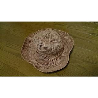 ムジルシリョウヒン(MUJI (無印良品))の無印良品 畳めるキャペリン(麦わら帽子/ストローハット)