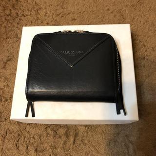 バレンシアガ(Balenciaga)のバレンシアガ 二つ折り財布(黒)(財布)