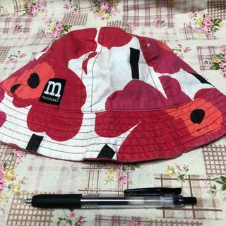 マリメッコ(marimekko)の☆ 中古 マリメッコ キッズ  帽子 ウニッコ ☆(帽子)