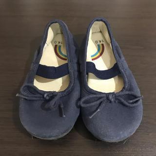 ムジルシリョウヒン(MUJI (無印良品))の無印良品 子供 靴 キッズ シューズ バレエ 14センチ(スニーカー)
