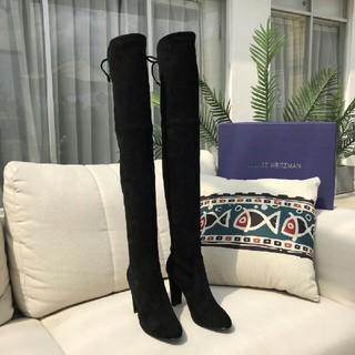スチュアートワイツマンSTUART WEITZMAN 黒 ブーツ