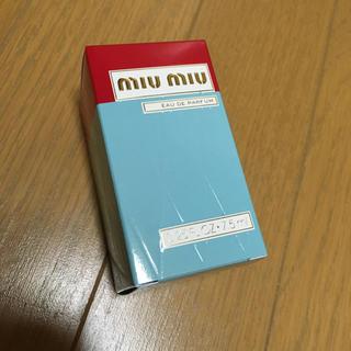 ミュウミュウ(miumiu)の【お値下げ中】miumiu 香水 7.5ml(香水(女性用))