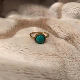 チビジュエルズ(Chibi Jewels)のChibi jewels ラージ ターコイズリング(リング(指輪))