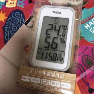 タニタ(TANITA)のタニタのデジタル温湿度計(日用品/生活雑貨)