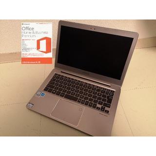 エイスース(ASUS)の【いわりんさん専用】 UX330UA 第7Core i5 メモリ8GB(ノートPC)