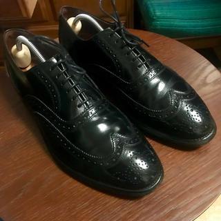 アレンエドモンズ(Allen Edmonds)のアレンエドモンズ  ウイングチップ 26.5cm 黒 Allen Edmonds(ドレス/ビジネス)