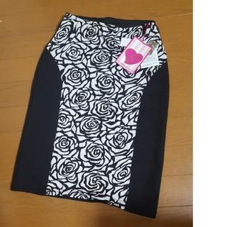 グラマラスジェーン 薔薇柄タイトスカート