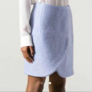 カルヴェン(CARVEN)のカルヴェン carven ウールスカート(ひざ丈スカート)