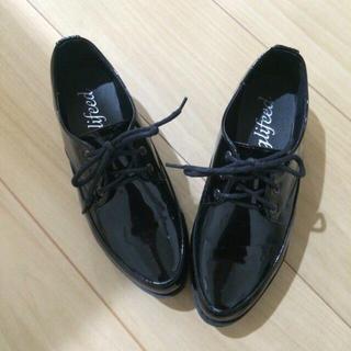 オックスフォード 厚底 シューズ(ローファー/革靴)