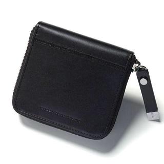 ディーゼル(DIESEL)のDIESEL BLACK GOLD★財布 黒  新品未使用★非売品(折り財布)
