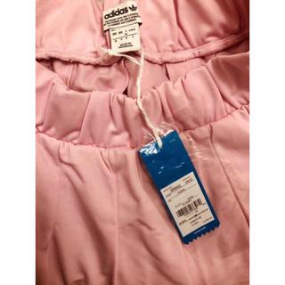 アディダス(adidas)のアディダス レディース オリジナルス スカート ピンク M 新品(ミニスカート)