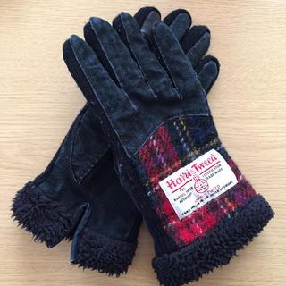 シマムラ(しまむら)のしまむら ハリスツイード 手袋(手袋)