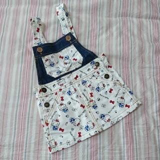 しまむら - 未使用☆ キティ ジャンパースカート