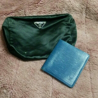 ルイヴィトン(LOUIS VUITTON)のヴィトン・プラダ財布&ポーチセット(財布)