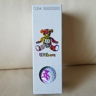 ウィルソン(wilson)のウイルソン ベア クレア 白 3個(その他)