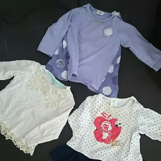 トッカ(TOCCA)のTOCCA、simplefree他子供服トップスサイズ80(シャツ/カットソー)