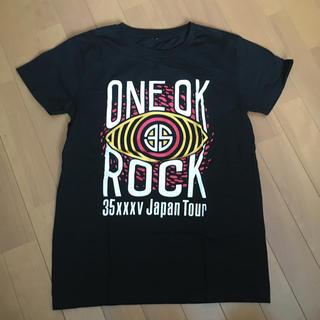 ワンオクロック(ONE OK ROCK)のワンオク ツアーTシャツ(Tシャツ(半袖/袖なし))