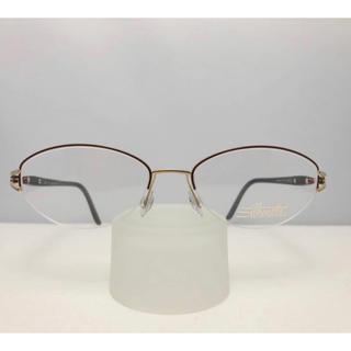 シルエット(Silhouette)のシルエット Silhouette オーストリア製 新品 レディース 眼鏡 紫(サングラス/メガネ)