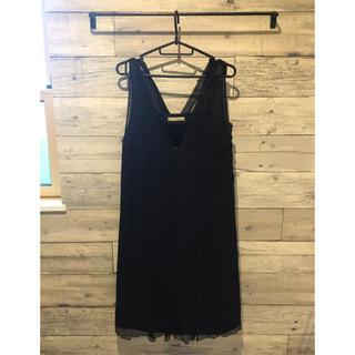 ガリャルダガランテ(GALLARDA GALANTE)のGALLARDAGALANTE ドレス 黒(ミディアムドレス)