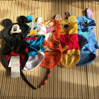 ディズニー(Disney)の犬 服 ディズニー 5枚セット(ミッキーのみ未使用)(ペット服/アクセサリー)