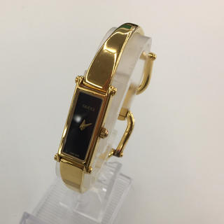 0394201cc241 グッチ(Gucci)のGUCCI グッチ ゴールドバングル ヴィンテージ 腕時計(腕時計)