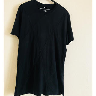 クリスヴァンアッシュ(KRIS VAN ASSCHE)の美品  kris van asshe 無地tシャツ(Tシャツ/カットソー(半袖/袖なし))