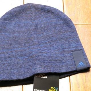 アディダス(adidas)のアディダスのニット帽(ニット帽/ビーニー)