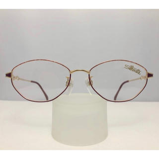 シルエット(Silhouette)のシルエット Silhouette 正規品 新品 レディース 日本製 眼鏡 赤 金(サングラス/メガネ)