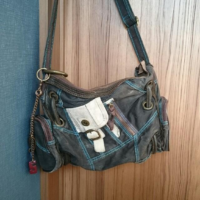 TOUGH(タフ)の【お値下げ!】【美品】TOUGH ショルダーバッグ メンズのバッグ(ショルダーバッグ)の商品写真