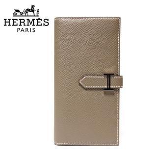 エルメス(Hermes)のHERMES エルメス 新品本物 Bearn/ベアンスフレ エトゥープ 長財布(財布)