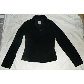 シマロン(CIMARRON)のCimarron シマロン 黒色別珍ジャケット Sサイズ USED 送料込(ライダースジャケット)