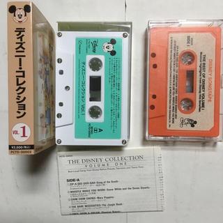 ディズニー(Disney)のディズニー カセットテープ 2本(その他)