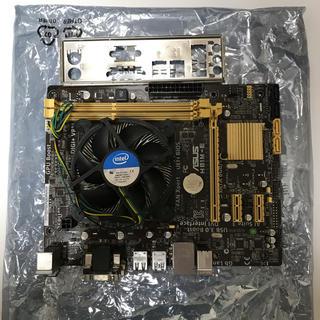 エイスース(ASUS)のIntel G3258 ASUS H81M-E マザーボードセット(PCパーツ)
