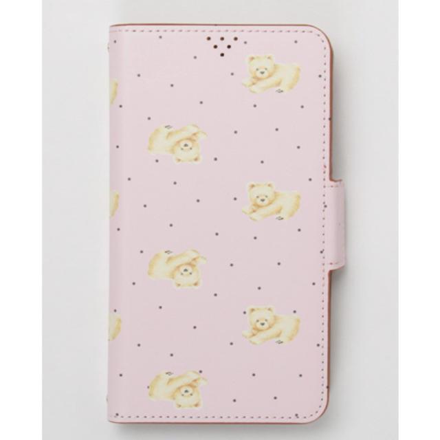 iphone7plus カバー 財布 | franche lippee - 新品フランシュリッペ のびくま スタンドスマホ手帳ケース ピンクの通販 by ♡ぷろふ必読|フランシュリッペならラクマ