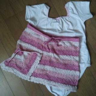 チャコット(CHACOTT)のchacott knit WEARMOIレオタードsサイズ(ダンス/バレエ)