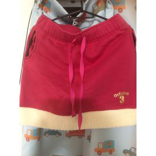 アディダス(adidas)のアディダス フワモコスカート(ミニスカート)